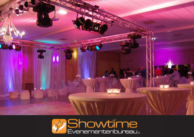 Evenementen aankleding it's SHOWTIME Evenementenbureau