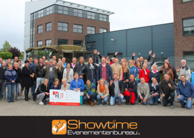 Legertruck uitje in twente it's SHOWTIME Evenementenbureau