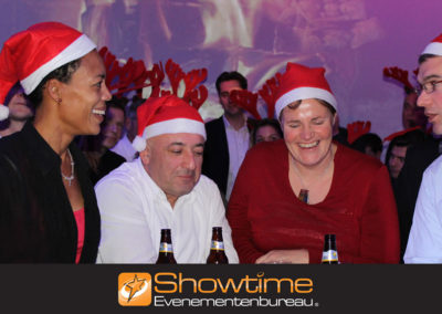 Kerstfeest, kerstuitje of een kerstborrel organiseren it´s SHOWTIME Evenementenbureau