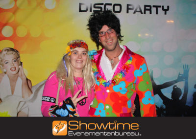 Back to the Seventies met de seventies party